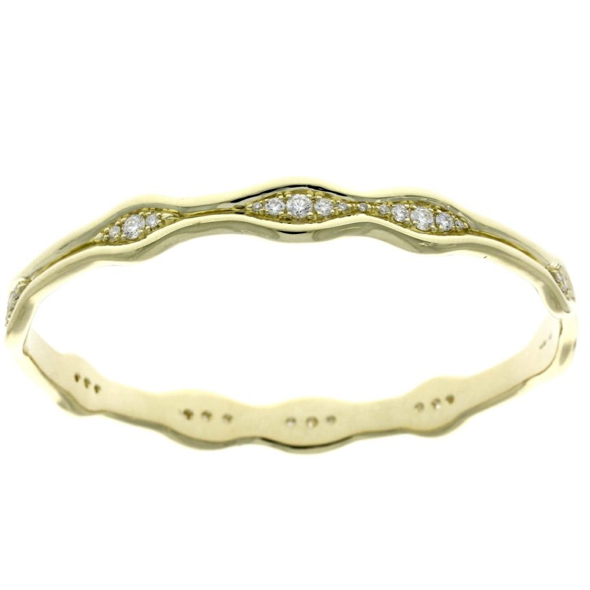 nwyldeyellowgolddiamondbangle