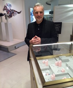 Nicholas at the Fenwick pop-up shop London 2015