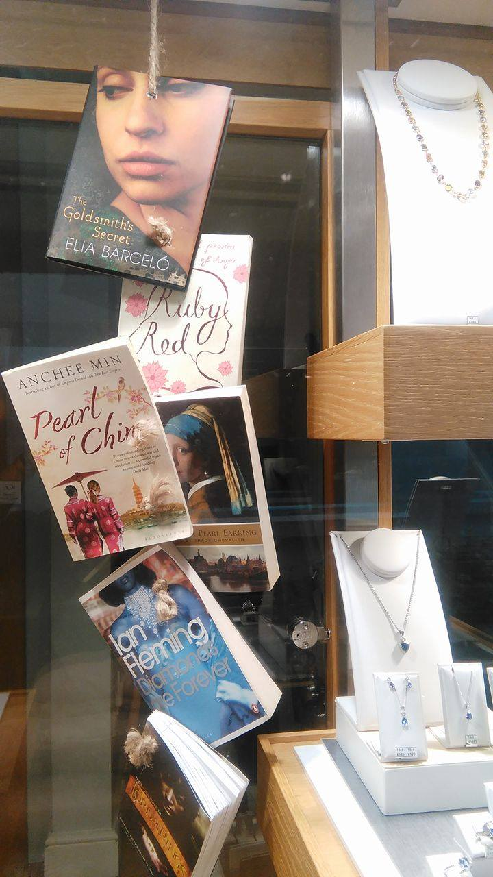 'Literary Gems' shine in our new window