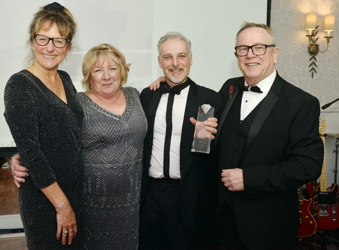 NIcholas awarded for 'above & beyond' Business Against Poverty support