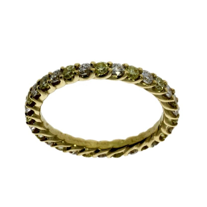 18ct yellow gold diamond full eternity ring nicholas wylde. Black Bedroom Furniture Sets. Home Design Ideas
