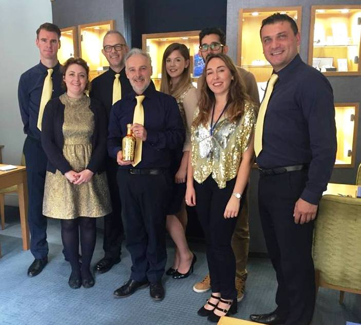 Winners United! Industry Wylde accolade & gold winners together in triumph…