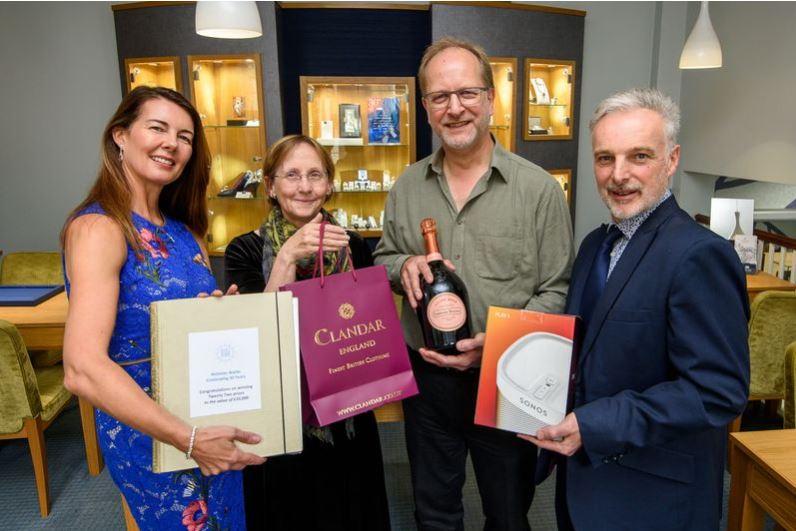 Winners United! Treasure Hunt winner collects £10k prizes