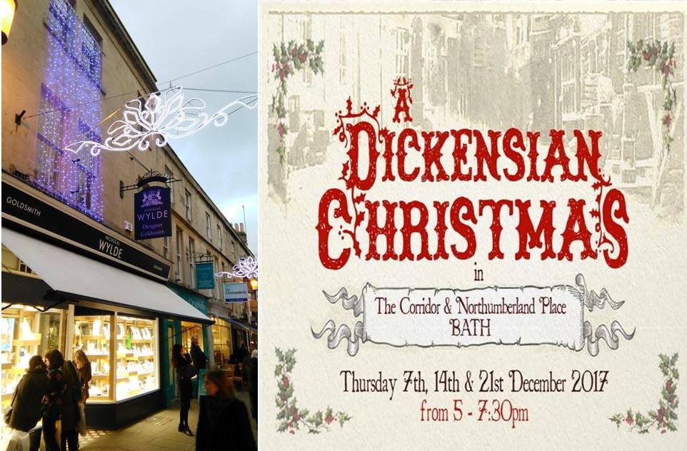 Dickens' nights begin in our street!