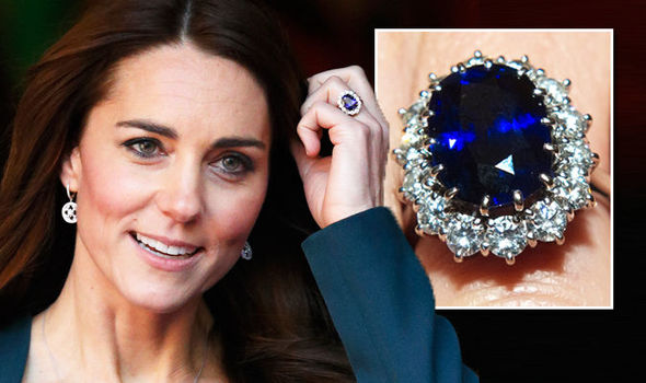 Kate Middleton Sapphire Ring Replica