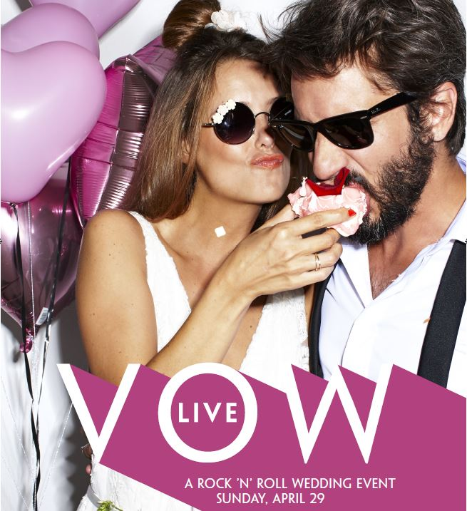VOW Live! Proud to be Wylde sponsors of this exciting wedding show event in Bristol