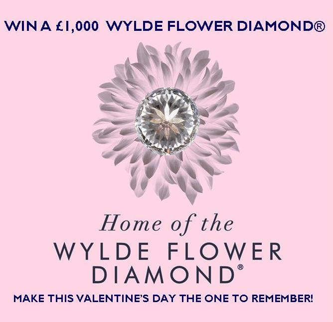 Welcome to 2018! Start the New Year with a chance to win a £1,000 Wylde Flower Diamond®!
