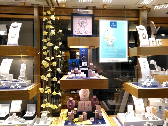 Spring is sprung in our new fresh window display!