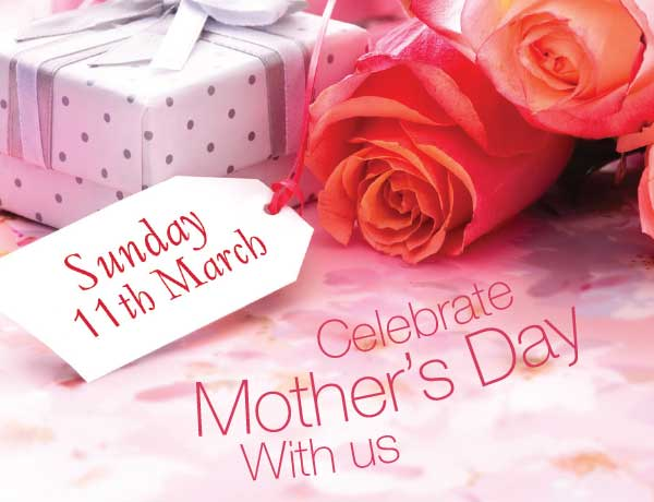 March 11th is Mother's Day: Celebrate the Wylde way!