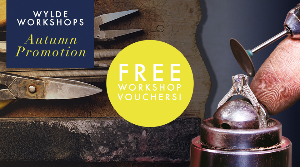Nicholas Wylde Launches Wylde Workshop Vouchers