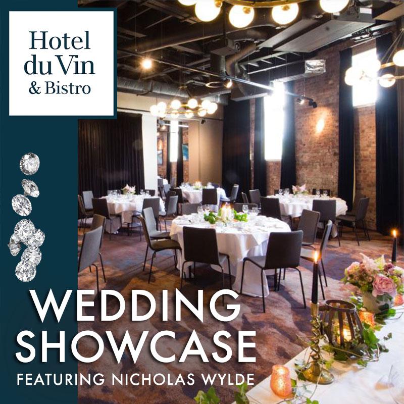 Hotel Wedding Show Nicholas Wylde Showcase