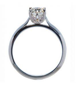 petal flower setting diamond engagement ring nicholas wylde flower diamond