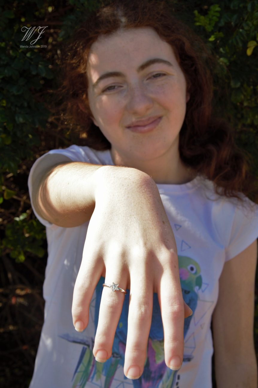 sweet sixteen star ring australia wylde flower diamond around the world