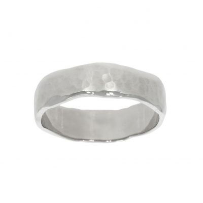 hammered organic natural wedding ring men's mens gentlemens grooms groom
