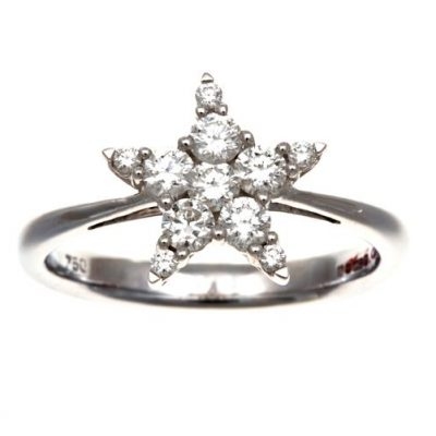 "Diamond ""star"" ring"
