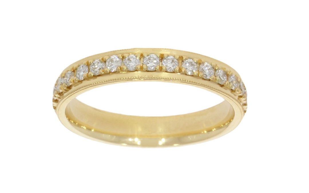 18ct Yellow Gold Eternity Wedding Ring