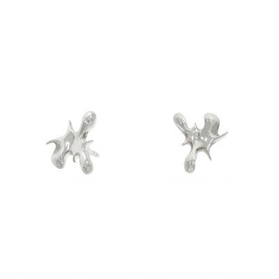 Lucy Quartermaine q splash splat paint studs earrings nicholas wylde stockist