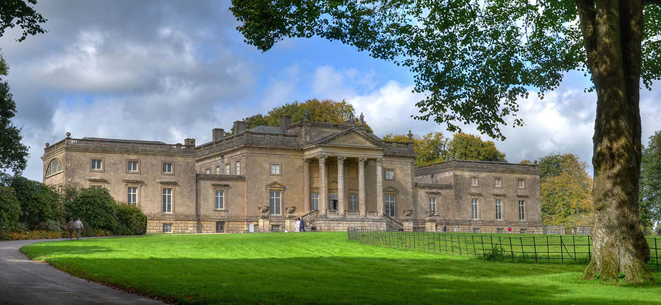 Mr Darcy mansion in england from film starring Keira Knightley