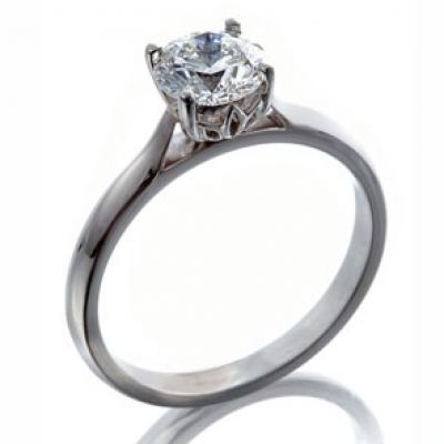 The Wylde Flower Diamond® Solitaire Ring