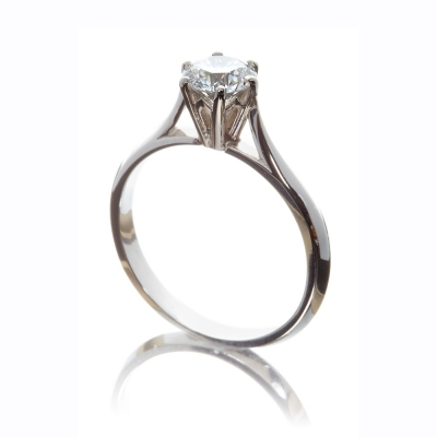 The Wylde Flower Diamond®  Facet Ring