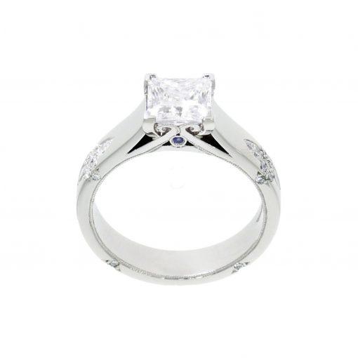 cad birthstone unique custom made goldsmith workshop process mossanite diamond engagement ring