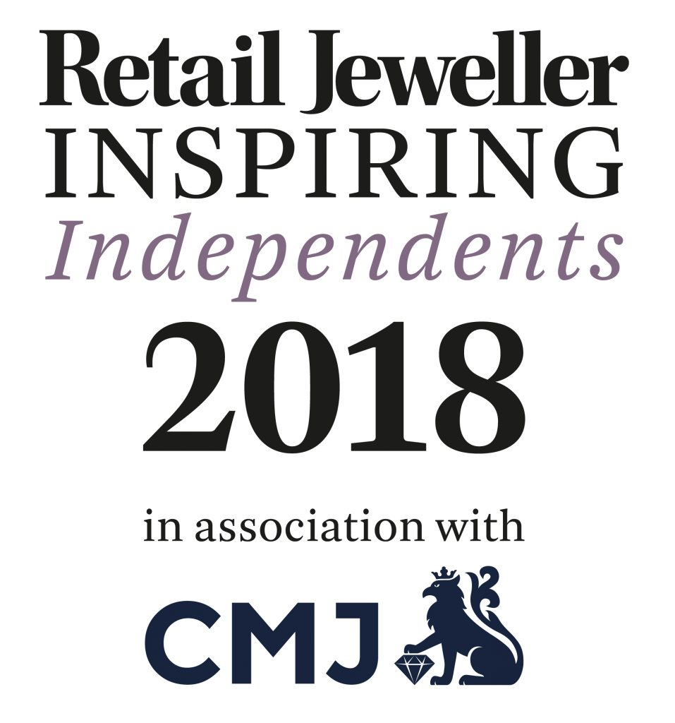 top 100 inspiring independent jewellers 2018 retail jeweller award to nicholas wylde in bath and bristol uk
