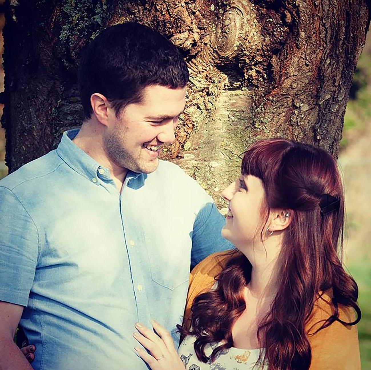 The engagement of Thomas & Bethany