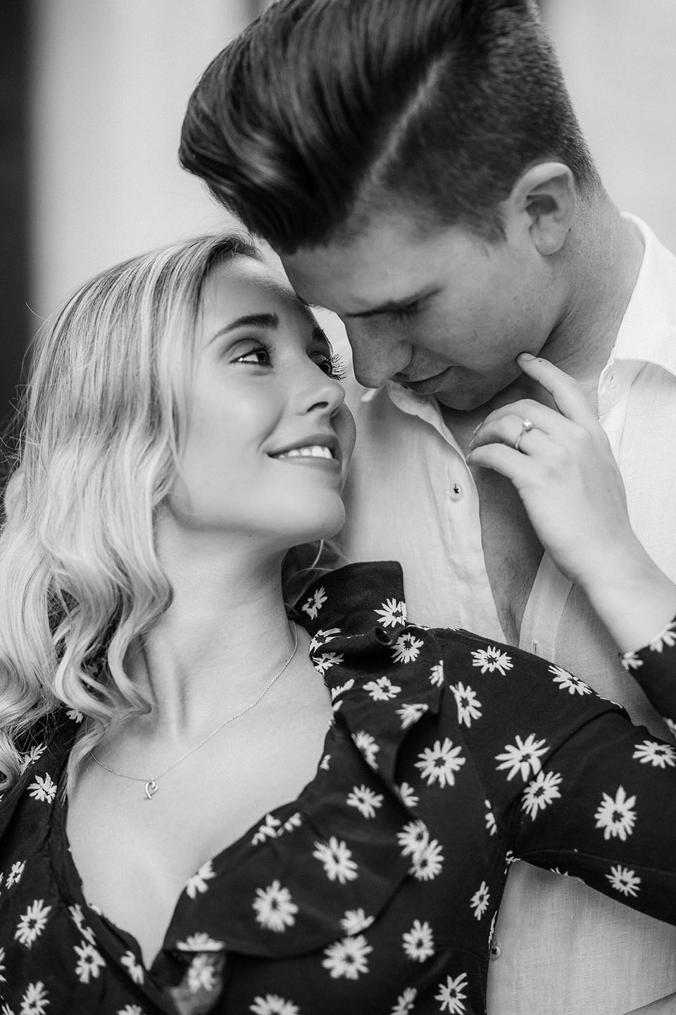 Samuel Hosier and Tamy's young love following engagement announcement