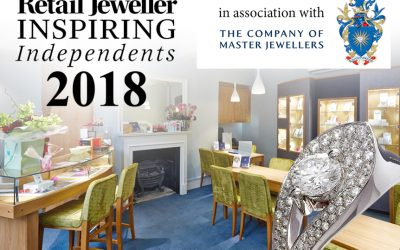 We're in the Top 100 Independent Jewellers List!