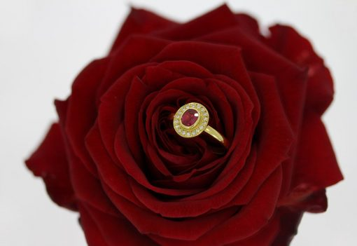 rose valentines day instead of ring box proposal alternative nicholas wylde goldsmith bath bristol clifton uk