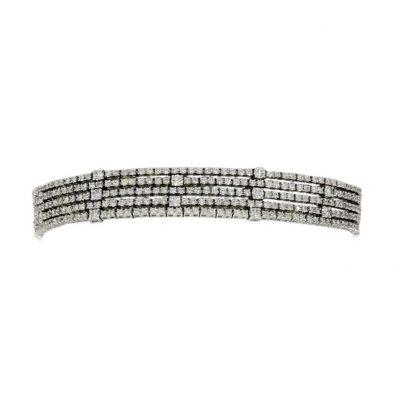 diamond bracelet grain set nicholas wylde