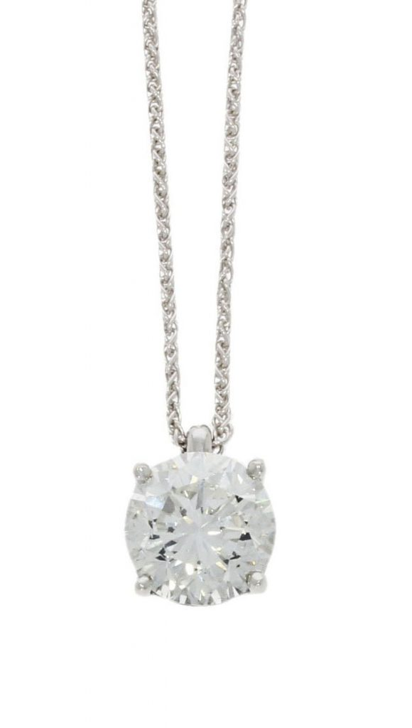 simple diamond pendant bath bristol uk goldsmith handmade