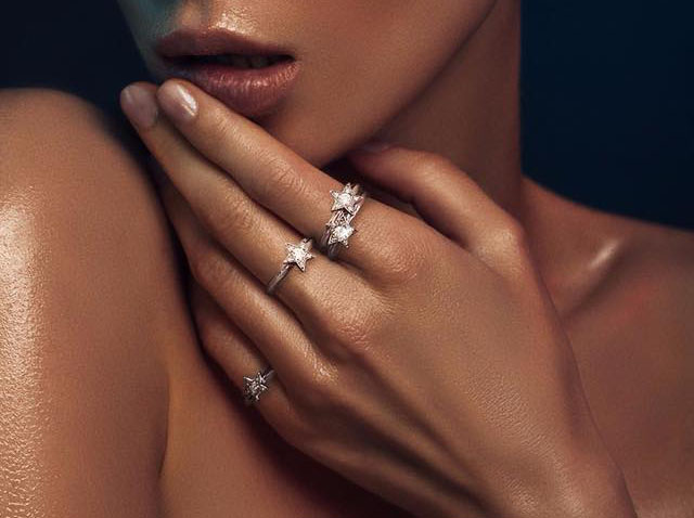 star diamond stacking rings cheap affordable engagement ring rings unusual different unique