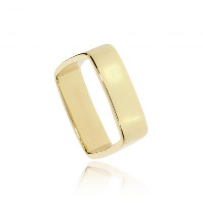 Unique and unusual comtemporary designer men's wedding ring