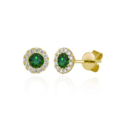 BRITHSTONE EMERALD MAY RING
